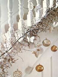 Banister Decorations For Christmas Holiday Banister Decorating Ideas U2013 Satsuma Designs
