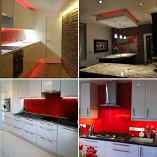 Red Kitchen Pics - led kitchen lighting under cabinet led lighting buy now from
