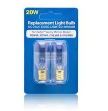 amazon com zadro 20 watt replacement light bulb for zadro vanity