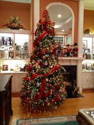 traditional and gold tree designed by arcadia floral