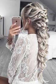 Frisuren Lange Wei゚e Haare by Schöne Haarfrisuren Für Jeden Anlass