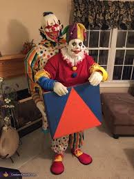 Halloween Clown Costumes Scary 1088 Clown Carnevil Haunt Ideas Images