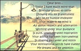 birthday poems for boss u2013 page 2 u2013 wishesmessages com