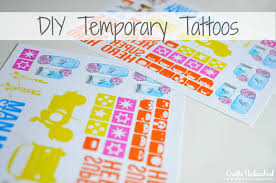 temporary tattoos tutorial make your own with this easy how to