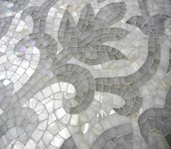 water jet cutting allows us to create stunning mosaic designs