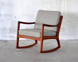 modern mid century rocking chair design 89 in raphaels villa for