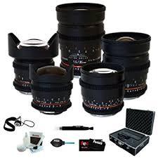 black friday amazon for dslr lens amazon com rokinon full cine 5 lens kit 35mm 24mm 14mm