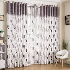 Large Pattern Curtains by Latest Styles In Window Dressings Modern Blinds For Patio Doors