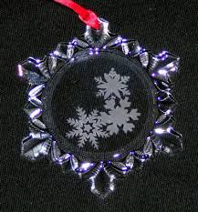 lead snowflake ornament wilson studios