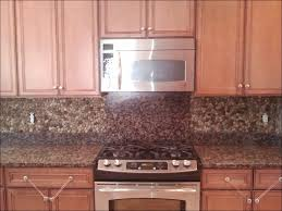 kitchen red brick backsplash faux brick backsplash glass and