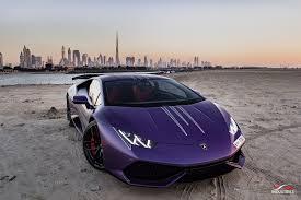 lamborghini purple purple lamborghini huracan 1016 industries aero wing image 3