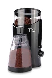 Mr Coffee Burr Mill Grinder Review Amazon Com Tru Burr Grinder Holds 1 2 Pound Coffee Beans