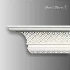 gm 0131 polyurethane ornamental molding for ceiling crown