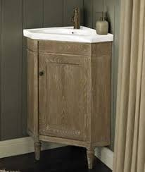 Xylem Vanities Carlton Corner Vanity From Xylem Great For Small Bathrooms