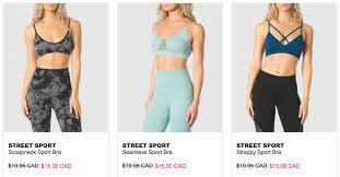 thanksgiving 2014 canada sales la senza canada sale 15 sports bras buy 2 panties get 1 free