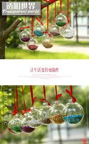 aliexpress com buy dia5cm clear glass balls christmas