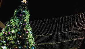downtown santa tree lighting