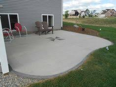 Cement Designs Patio Inexpensive Concrete Patio Ideas Concrete Patios Cement Patio