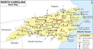 map of virginia and carolina with cities carolina map map of carolina cities and roads