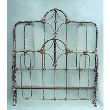 Antique Cast Iron Bed Frame Antique Iron Bed Frame Rails Ecoinscollector