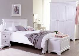 The Bridlington White Collection - White pine bedroom furniture set