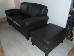 Ikea 2 Seater Leather Sofa Ikea Ystad 2 Seater Brown Leather Sofa Excellent As New Condition