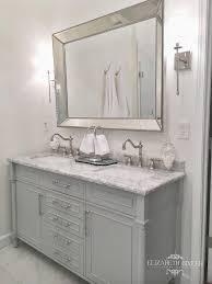 bathroom mirror ideas on wall best 25 white bathroom mirror ideas on grey framed