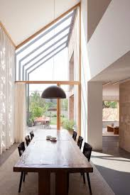 Contemporary Dining Room Decor Decorations Awesome Dining Room With Modern Skylight In Sloping