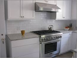 Ceramic Subway Tile Kitchen Backsplash White Ceramic Subway Tile Backsplash Tiles Home Decorating