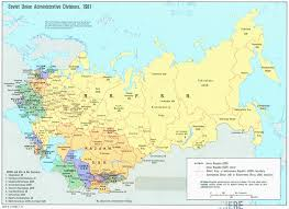 russia map soviet union 1981 map russia mappery