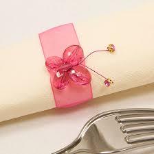 rond de serviette mariage rond de serviette mariage deco de table pas cher badaboum