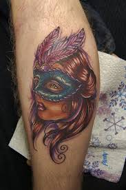8 amazing masked tattoos