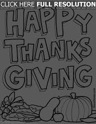 coloring pages for thanksgiving u2013 happy thanksgiving