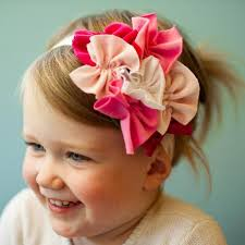 toddler headbands pink and white color toddler headband weddings