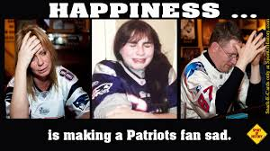 Patriots Fan Meme - happiness is making new england patriots fans sad sport of history