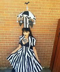 Style Glow Worm Halloween Costume Beetlejuice Halloween Costume Michay Velasquez Aka Vintage