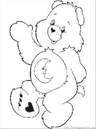 care bear coloring pages 1 coloring free care bears