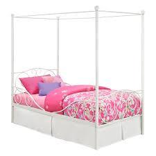 Twin Canopy Bedding by Canopy Metal Beds Viendoraglass Com