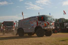 dakar 2013 hino trucks finish for the 22nd time