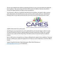 cares u2013 morris county center for addiction recovery education