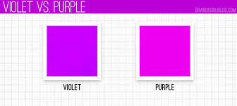 violet purple using purple violet vs purple color combos pinterest