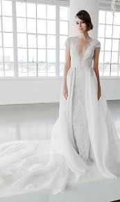 26 gorgeous illusion neckline wedding dresses weddingomania