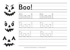 halloween handwriting sheets u2013 fun for christmas