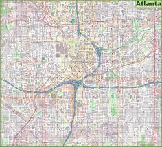 Marta Train Map Atlanta Maps Georgia U S Maps Of Atlanta