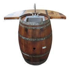 wine barrel wet bar vita vino u2013 wine barrel fire pits and