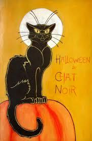 vintage halloween wallpaper halloween du chat noir by unistar2000 cat art vi pinterest cat
