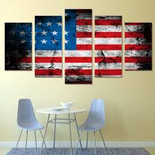american flag home decor art american flag wall art piece canvas art american flag printed