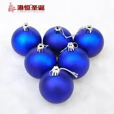 aliexpress buy 6pcs 6 8cm matte blue balls