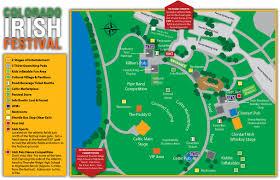 Festival Map Festival Map Colorado Irish Festival