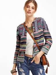 quickie adam lippes for target colorful tribal print jacket fashion should be fun